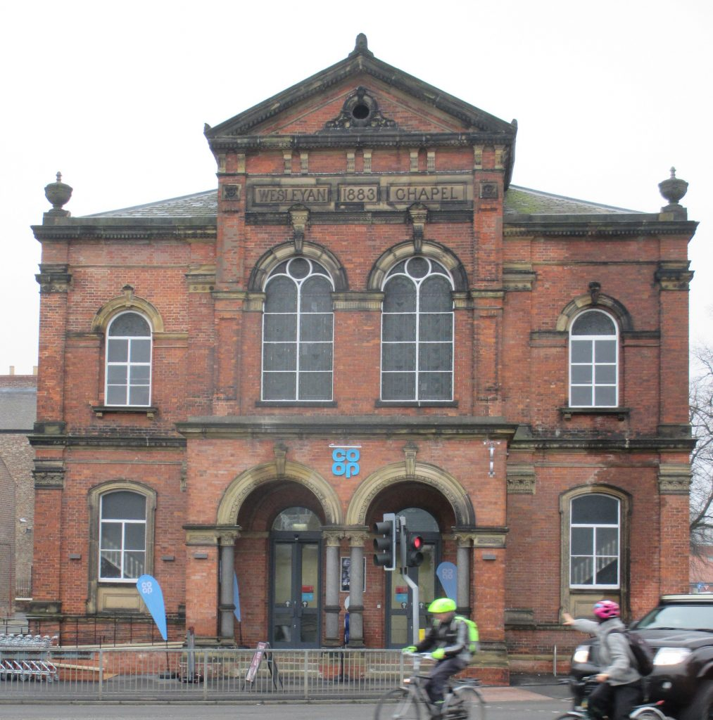 Photo of Coop in former Wesleyan Chapel, Clarence St, York