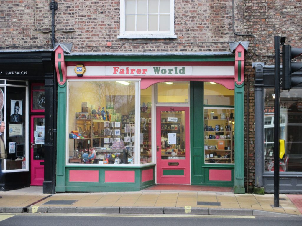 Photo of Fairer World, Gillygate, York