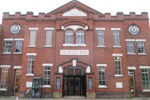 Photo of Salvation Army building, Gillygate, York