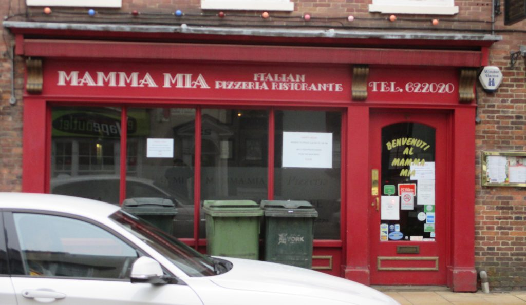 Photo of Mamma Mia, Gillygate, York