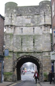 Photo of Bootham Bar from within city walls, York