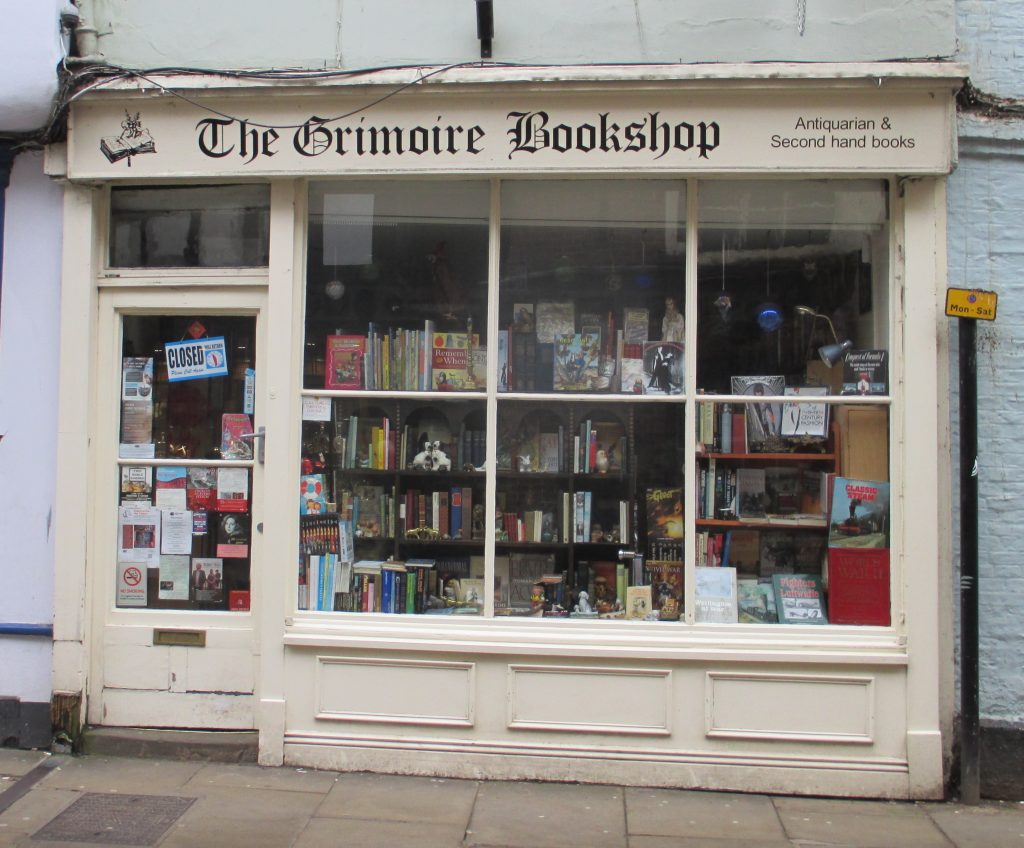 Photo of Grimoire Bookshop, Petergate, York