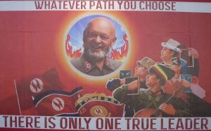 Michael Eavis Poster, Glastonbury