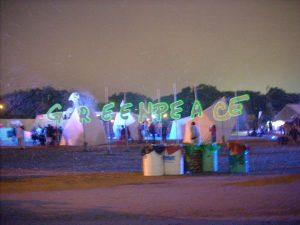 Greenpeace At Glastonbury