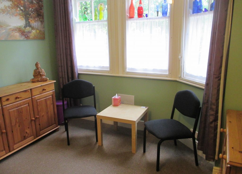Massage therapy room, York