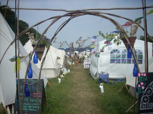 Healing And Massage Area, Solfest